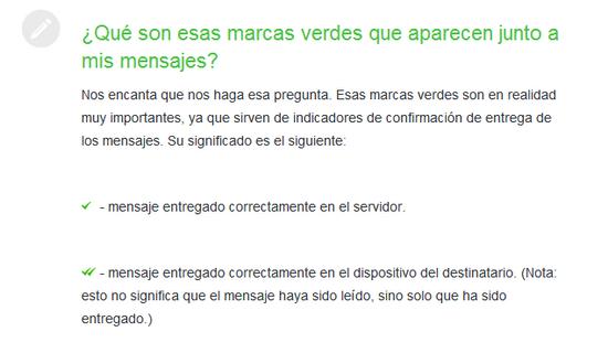 FAQ WhatsApp