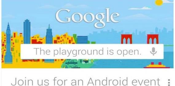 Google anuncia un evento para el 29 de octubre, se presentará el LG Nexus 4