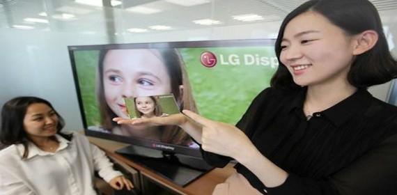 LG, Pantech y Samsung anuncian pantalla Full HD para teléfonos el año que viene