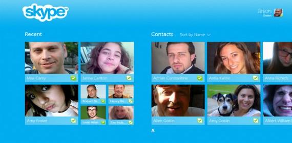 Skype ya tiene su versión para Windows 8